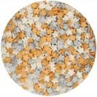 FunCakes Silver-Gold-White Stars Mix
