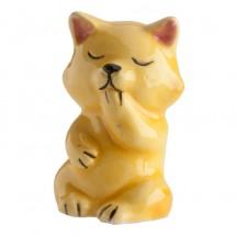Figura roscón gato amarillo
