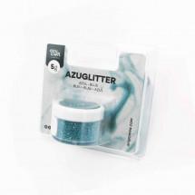 Purpurina Azuglitter azul
