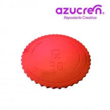 Disco extrafuerte rojo 30 x 3mm Azucren