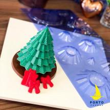 Molde de chocolate Árbol de Navidad PF