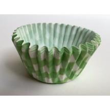 Cápsulas cupcakes vichy verde