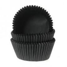 Cápsulas mini cupcakes negras