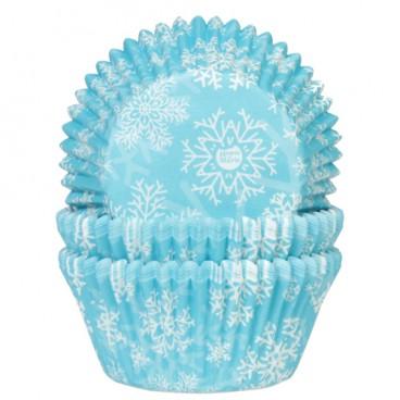 Cápsulas cupcakes copos de nieve