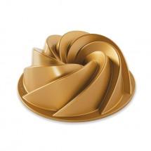 6 Cup Heritage Bundt Pan gold