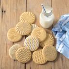 Geo Cast Cookie Stamps