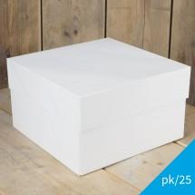 Caja blanca Funcakes 25x25x15