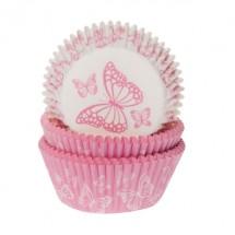 Cápsulas mariposas rosas y blancas. HoM