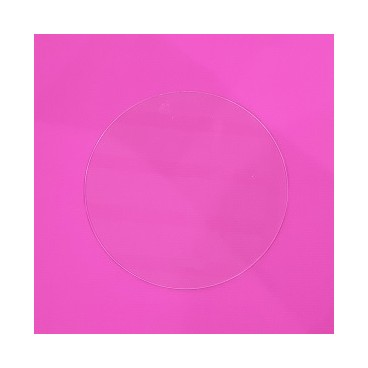 Disco acrílico 16 cm. sin marca
