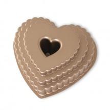 Tiered Heart Bundt Pan