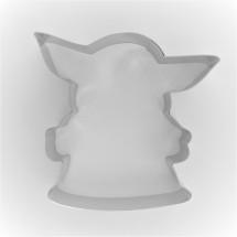 Cortador Baby Yoda