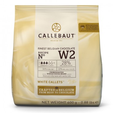 Callets Chocolate blanco 28%