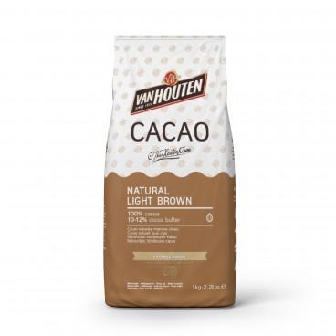 Cacao en polvo Marrón claro natural