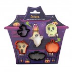 Kit 6 minicortadores Halloween