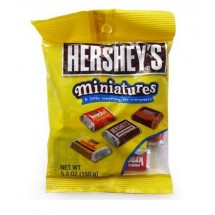 Hershey's mini chocolates